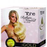 Pack GOLD Shampoing + masque 300ml et huile 10ml